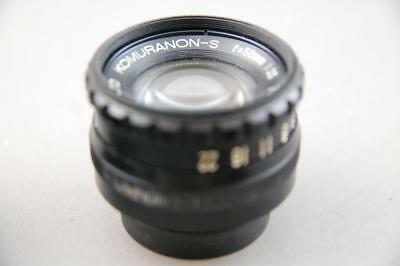 Komuranon-s  50mm f3.5 enlarging lens, clean and bright glass.
