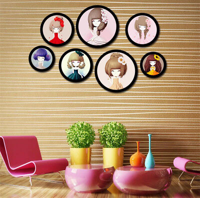 New Round Hanging Photo Frame  Modern Collage Photo Family Picture&Photos Frame