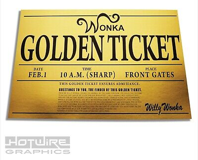 Willy Wonka Golden Ticket Print, Oompa Loompa Costume Party, Chocolate Factory