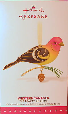 "Hallmark  2015Western Tanager #11 In  ""beauty Of Birds"" Series"