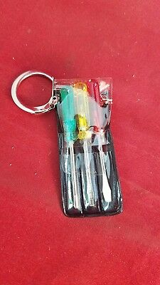 *Miniature Screwdriver set key chain-Vintage-eye glasses-mini