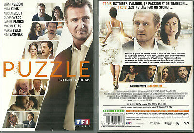 RARE / DVD - PUZZLE avec LIAM NEESON ADRIEN BRODY MILA KUNIS COMME NEUF LIKE NEW