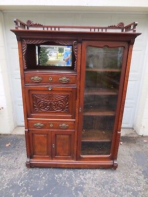 Antique Drop Front Secretary