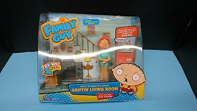 Lois Family Guy Living Room Interactive Electronic  Playmates Crazy World Sealed