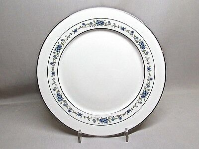Noritake Ivory China .. Norma .. 10 Inch Dinner Plate .. Platinum Trim