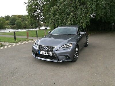14 Lexus IS 300h Executive Edition Lexus Petrol/Electric Hybrid DAMAGED REPAIRED