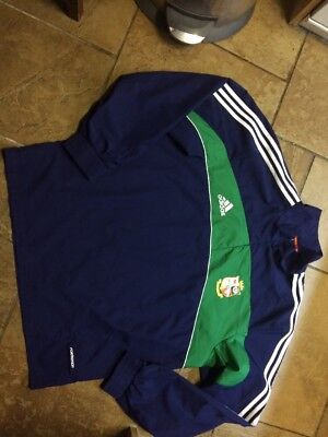British Lions Rugby Union Team Training Jacket South Africa 2009 Adidas Large XL