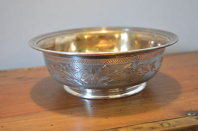 Precious CHRISTOFLE  Bowl from 1874 silver numbered