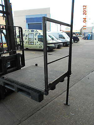 *** Portable Container Stair Platform Steel Chequer Plate ***