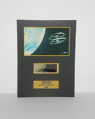"""(2) 2001 A Space Odyssey Science Fiction Senitype Film Cell Movie Photo 5"""" x 7"""""""