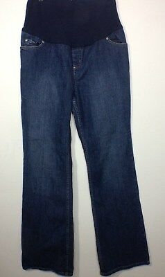 Liz Lange Maternity Womens Jeans Size 8 Medium Wash  Belly Band Target