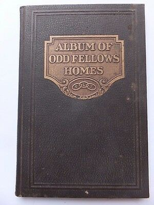 Vintage Hardcover Book Album of Odd Fellows Homes 12th Revised Edition 1927