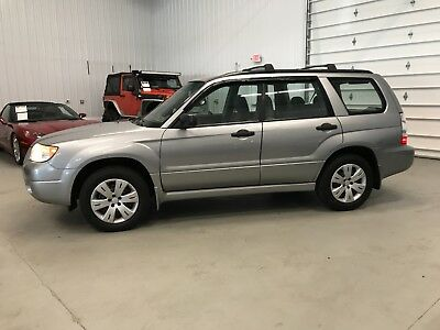 2008 Subaru Forester 2.5X 2008 Subaru Forester 2.5X*AWD*173HP*20city/26Hwy MPG*Roof Racks*Cargo Cover
