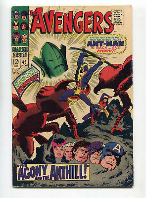 1967 Marvel Avengers #46 Ant-Man Returns Very Good+ Small Piece Of Tape On Back