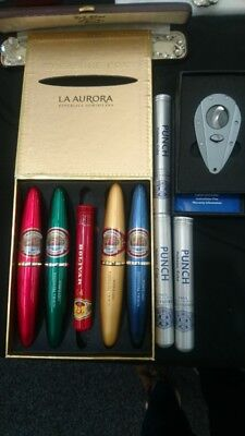 Vintage cigars in box bundle, extras with Xikar Xi1 cigar cutter, no reserve