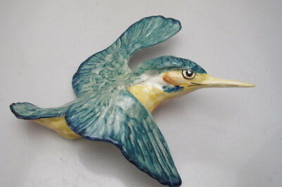 Vintage Beswick Flying Kingfisher Wall Plaque 729 - 1