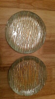Decorative plates, ornaments. Green and gold plates Homesense home accessories