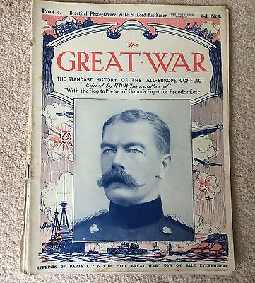 WWI THE GREAT WAR Standard History of the All Europe Conflict HW Wilson PART 4