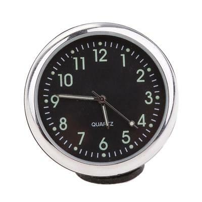 Fluorescent Black Auto Car Quartz Clock Watch Interior Decor High Quality