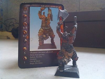 Confrontation-Keltois-Giant Barbarian -Black Base-Rackham