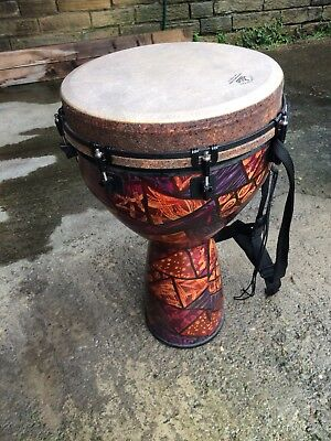 REDUCED! Remo 14 Inch Designer Series Key-Tuned Djembe. New Photos!
