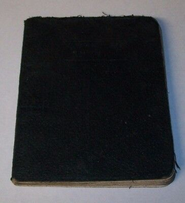 Ww2 Raf Aircraft Recognition Manual Arp Raid Spotter'S Notebook German Bombing