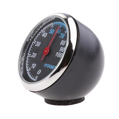 Car Truck Analog Hygrometer Easy Mount on Dash