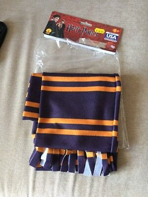 Harry Potter Hogwarts Griffindor coloured scarf