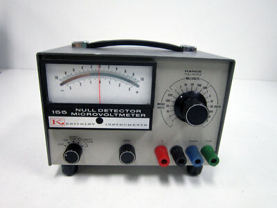 Keithley 155 Null Detector Microvoltmeter