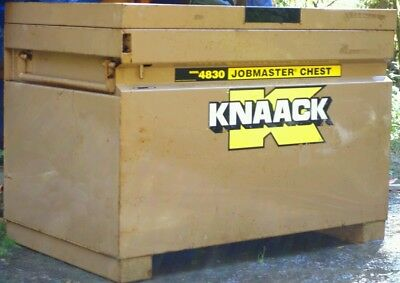 "KNAACK 4830 Jobmaster tool chest lock box 48""X 30""X 30"" $.75/m delivery"