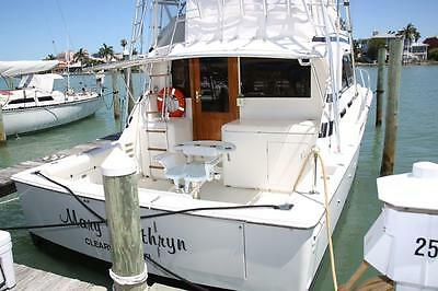 Bertram 37 Ready to Fish or Cruise. - Beautiful & Well Maintained  Many Upgrades