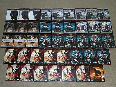 CARBOOT JOB LOT 42 HD DVD HDDVD FILMS MOVIES COLLECTION Harry Potter Transformer