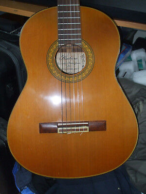 Classical Guitar. Kimbara Model N29 Made in Japan. 1970s MIJ VGC with Hard Case.