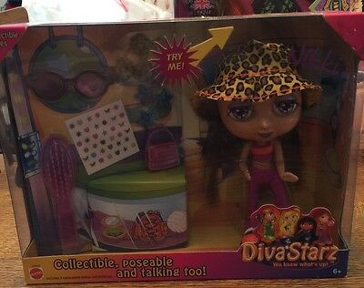 Diva Stars Talking Nikki Doll Mattel 2000 Works NRFB
