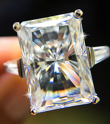 Other Fine Rings Latest Collection Of 6 Ct Pear Ring Vintage Brilliant Top Russian Cz Moissanite Simulant Ss Size 9