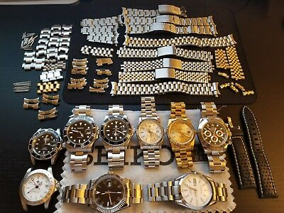 Large Lot of Automatic 'Homage' Watches & Bands