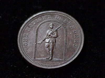 Our Nations Defenders soldier pictorial 1861-1865 CWT civil war token unlisted?