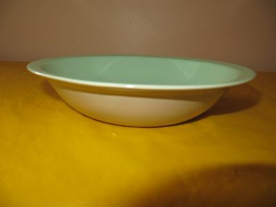 """BRANKSOME Grey&Light Green BOWL  dia 7.25"""", hardly used in VGC  (0.3/21A)"""