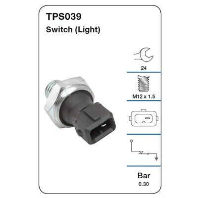 Tridon Oil Pressure Switch TPS039 fits BMW 5 Series 518 (E12), 520 d (E60), 5...