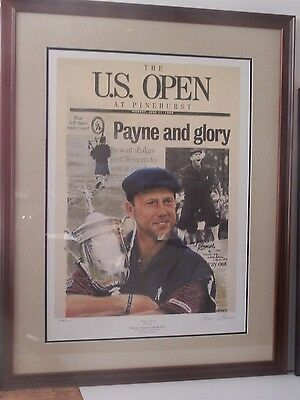 U.S. OPEN at PINEHURST, lithograph by Doug London