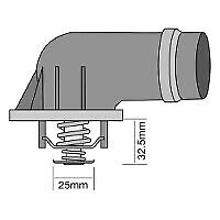 Tridon Thermostat TT557-203 fits BMW 3 Series 318 Ci (E46) 105kw, 318 i (E46)...