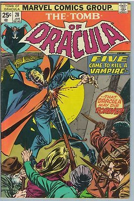 Tomb of Dracula 28 Jan 1975 VG-FI (5.0)