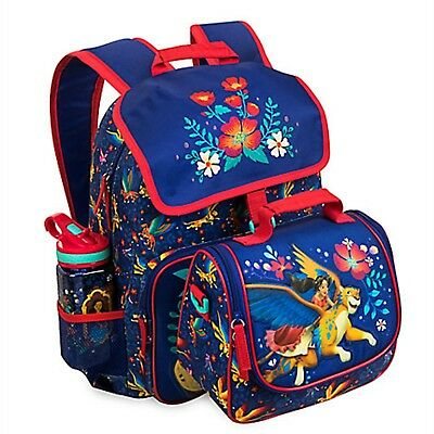Disney Store Elena of Avalor Backpack Lunch Tote Box Skylar School Book Bag NEW
