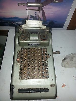 Vintage McCaskey Adding Machine