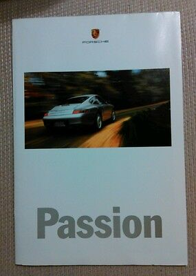 2000 Porsche 911 Carrera Boxster Color Brochure and Poster