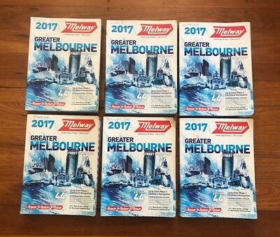 Melways Greater Melbourne 2017 Edition 44 Street Directory