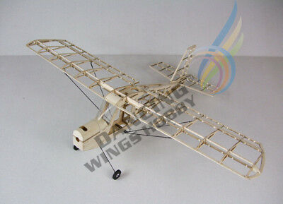 Free Shipping DW Hobby RC Micro Indoor Balsawood Airplane Aeromax Building Kit