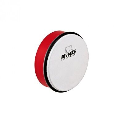 Meinl NINO ABS 15cm Hand Drum Red (NINO4R). Meinl Percussion. Delivery is Free