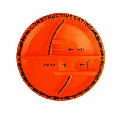 Constructive Eating - Construction Plate kids plate Toddler novelty plate