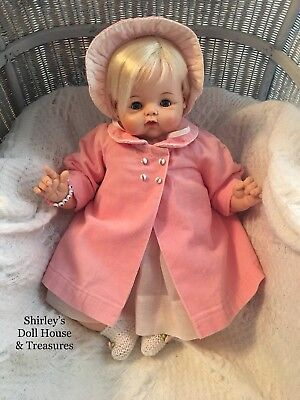 Vintage Antique 1962 Madame Alexander Mama KITTEN Moving Crying Baby Doll